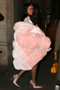 Rihanna puffer jacket