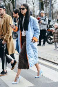 Ouffer jacket matching shoes